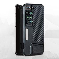 Optyczny wysokiej jakości 6 w 1 obiektyw telefonu 2X teleobiektyw obiektyw szerokokątny 10X 20X makro obiektywy typu rybie oko telefon etui dla iphone'a x 7/8 Plus