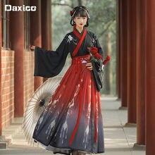 Chinês tradicional hanfu traje mulher antiga dinastia han vestido oriental princesa vestido lady elegância tang dynasty dance wear