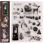 Xmas Animal Stamps a...