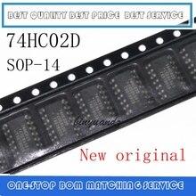 50 pièces ~ 200 pièces 74HC02 74HC02D SOP 14