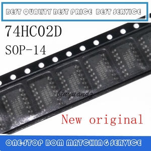 Image 1 - 50 pièces ~ 200 pièces 74HC02 74HC02D SOP 14