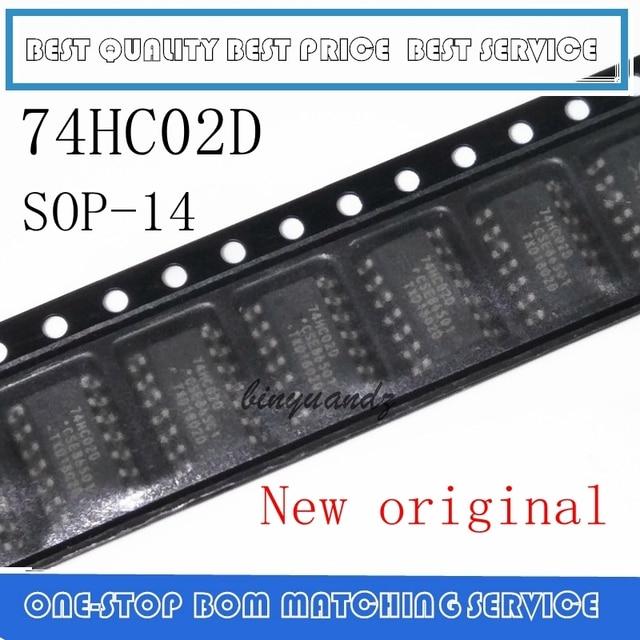 50PCS ~ 200PCS 74HC02 74HC02D SOP 14