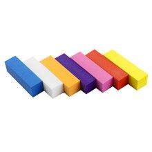 5pcs жидкость для шлифовальная губка блок лак ногтей nail art