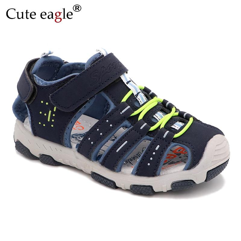 Boys And Girls Sandals Brand Children Summer School Sports Shoes  New Children's Summer Beach Sandals Girls Size 25 To Size 36