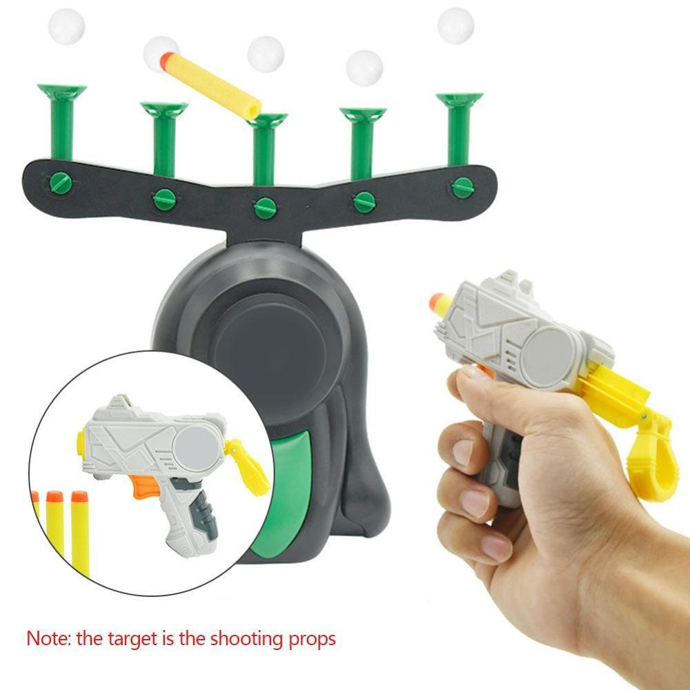 Electric Air Shot Hovering Ball Fun Floating Target Airshot Game Foam Dart Blaster Shooting Ball Toy Kids Gift Float Accessories