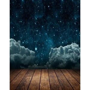 Image 2 - Allenjoy fondo fotográfico espacio cielo estrellado de noche estrella cuento de hadas niños Fotografía telón de fondo photocall photophone