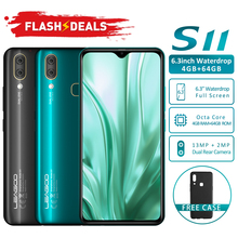 "Get more info on the LEAGOO S11 Android 9.0 4G Smartphone 6.3""Waterdrop Display 4GB 64GB 3300mAh Helio P22 13MP Dual Camera Fingerprint smartphone"