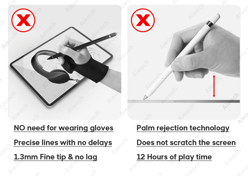 Palm Rejection Smart Pen Stylus Pencil For Apple iPad Pro 11 12.9 2018 Active Stylus Touch Pen For iPad Air 3 2019 10.2 mini 5