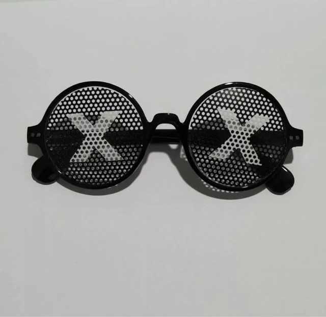 Mozaïek Zonnebril Truc Speelgoed Thug Life Bril Deal Met Het Glazen Pixel Vrouwen Mannen Zwart Mozaïek Zonnebril Grappige speelgoed