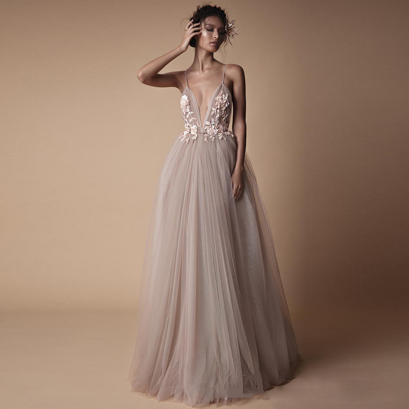 2019 European And American-Style New Style Wedding Veil Evening Gown Hot Selling Evening Bridesmaid Dress