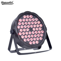 led par lights 54x3W DJ Par LED lights Wash Disco Light DMX Controller effect for Small paty KTV