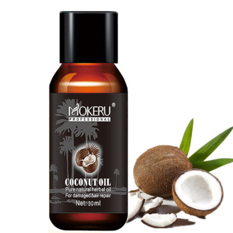 Кокосовое эфирное масло для ухода за волосами, улучшает шероховатость волос, восстанавливает повреждение, восстанавливает мягкость, подхо...