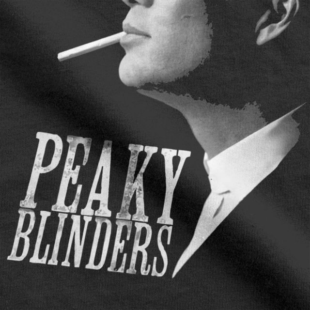Peaky Blinders T-Shirt for Men Tommy Shelby Tees Short Sleeve Classic O Neck Tops Best Gift Idea 100 Cotton T Shirt Plus Size