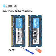 Latumab 8GB 16GB DDR3L 1600MHZ PC3L 12800 Laptop Memory So-Dimm Memory Ram 204 Pins 1.35V Notebook PC Memory RAM Memory Module latumab ram ddr3 8gb 16gb 32gb 1333mhz laptop memory pc3 10600 sodimm memory 204pin 1 5v notebook memory memoria ddr3 ram module