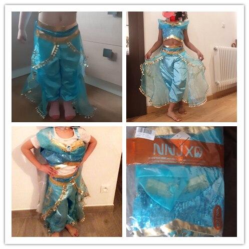 Girls Fairy Princess Costume Beauty Princess Kids Dress Halloween Cosplay Costume Children Girls Arabian Princess 6