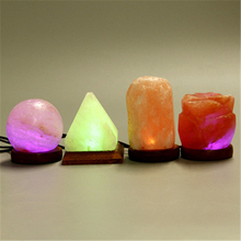 Dropship New Arrival 3D salt lamp Colorful Lamp Change Touch Home Decor Creative Gift Led Night Light Air Purifying Lamp 2019 new arrival dropship hot dragon egg night light as gift for night lamp in room light