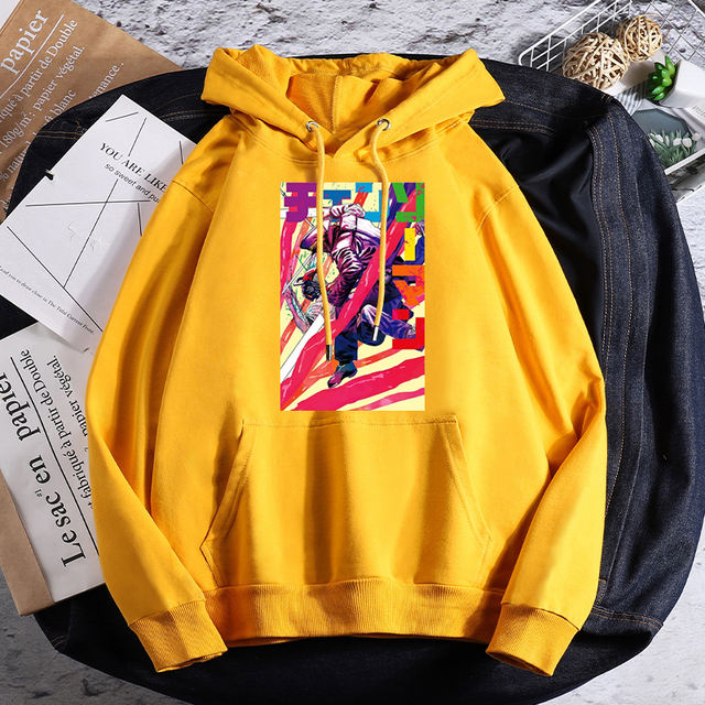 CHAINSAW MAN THEMED HOODIE (11 VARIAN)