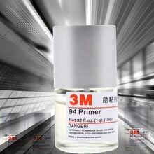 2 pc 3M 94 Adhesive Primer Promotor de Adesão Adesiva Dupla-face 10ML Embrulho Carro Ferramenta de Aplicação de Cola Rápida Para Carro-styling