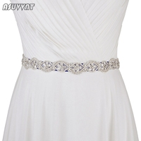 Wedding Belts Rhinestone Flower Belt For Wedding Dress Bridal Bridesmaid Dress Girdle Trendy Lady Accessories Party Women Belts