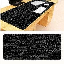 Mairuige 900*400*2 мм, Прямая, скоростной большой черный химический коврик для доски, оверлок, коврик для мыши, пользовательский дизайн, игровой коврик для мыши