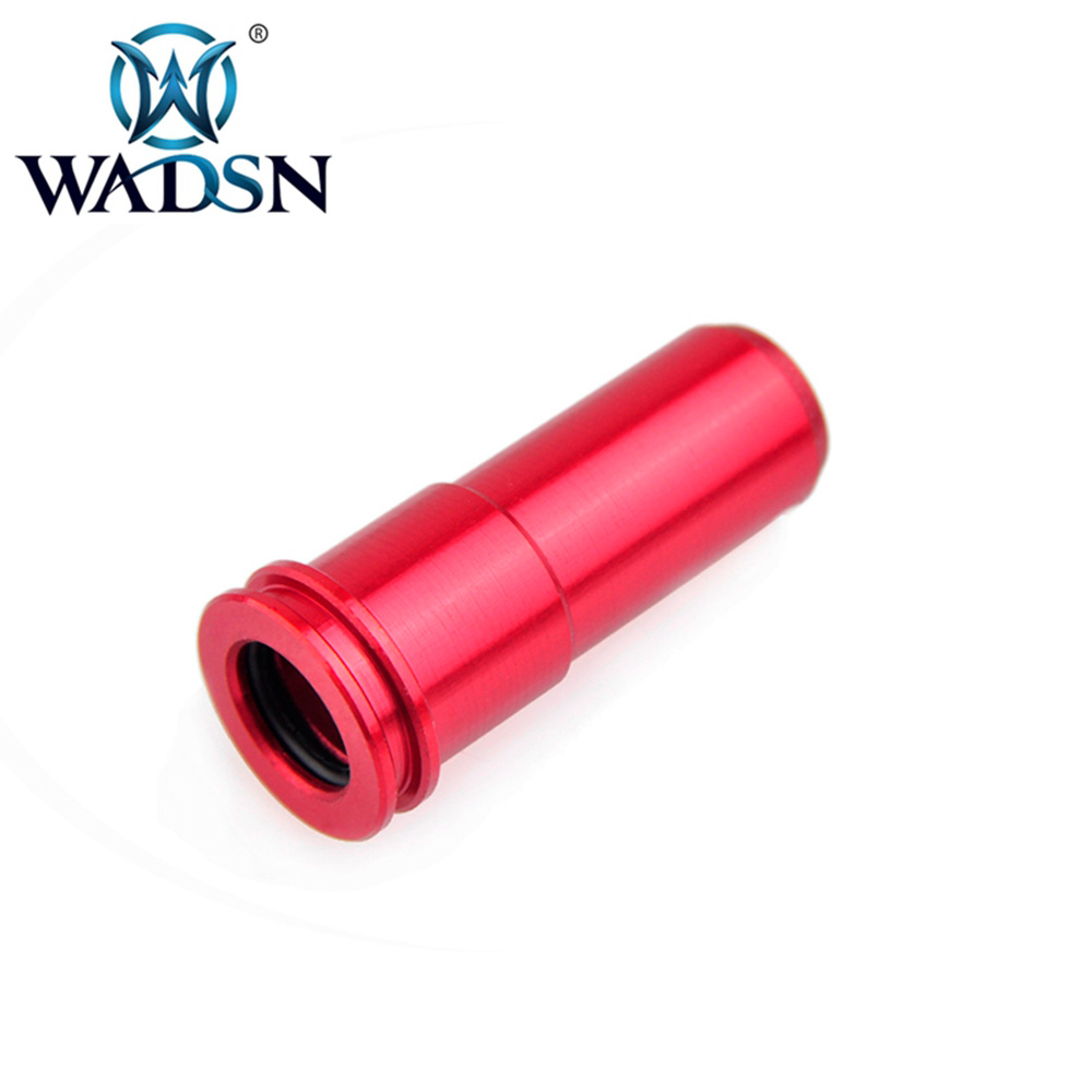 WADSN Tactical CNC Aluminum Air Seal Nozzle For M4 Series Airsoft AEG Softair Hunting Paintball Accessory PO03001 Free Shipping