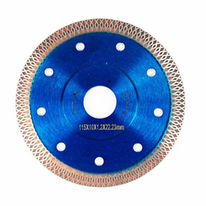 3pcs 115MM Diamond Circular Saw Blade Narrow Turbo Wheel 4.5inch Cutting Discs