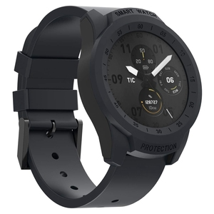 Image 5 - Top For Ticwatch Pro Case Protective Anti Scratch Bumper Cover For Ticwatch Pro Smart Watch Ultra Light (Black)