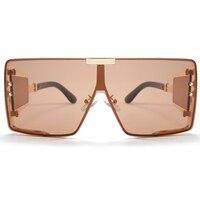 Peekaboo one piece shield sunglasses unisex heavy uv400  1