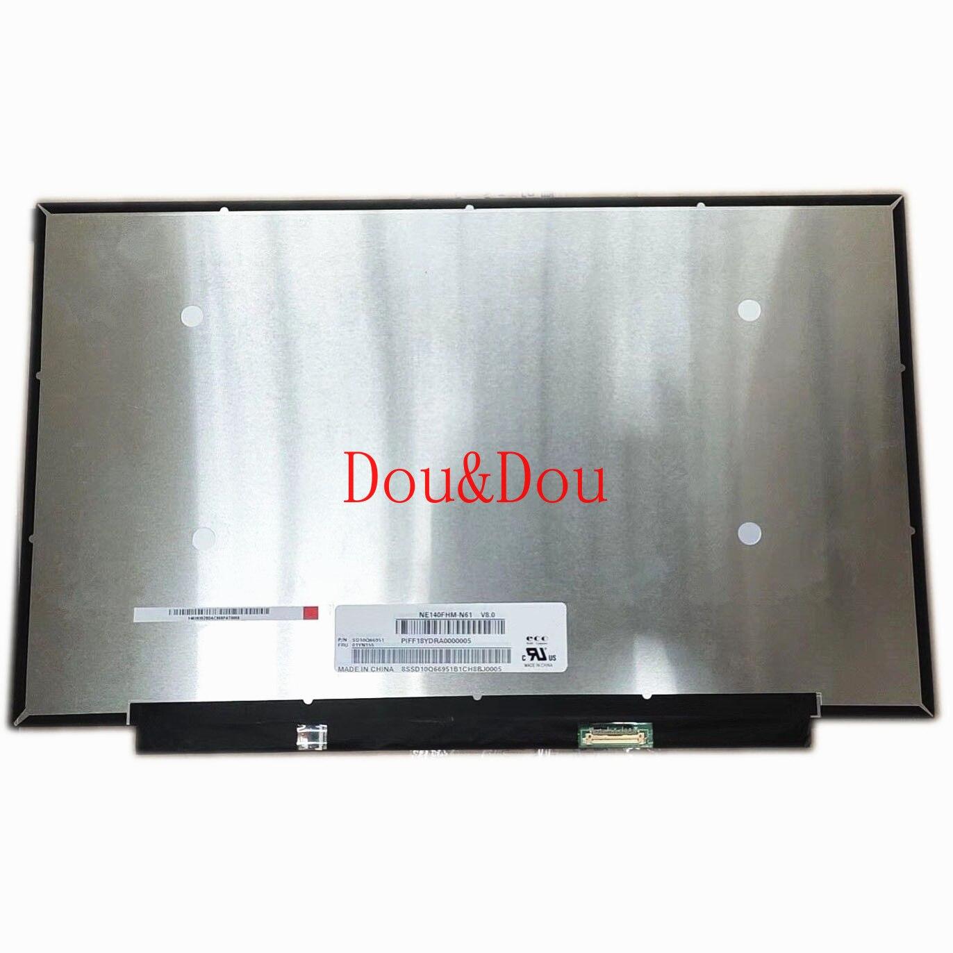 NE140FHM-N61 V8.0 fit N140HCG-GQ2 NV140FHM-N61 14.0'' IPS Laptop LED LCD Screen 1920*1080 EDP 30 Pins 72% NTSC