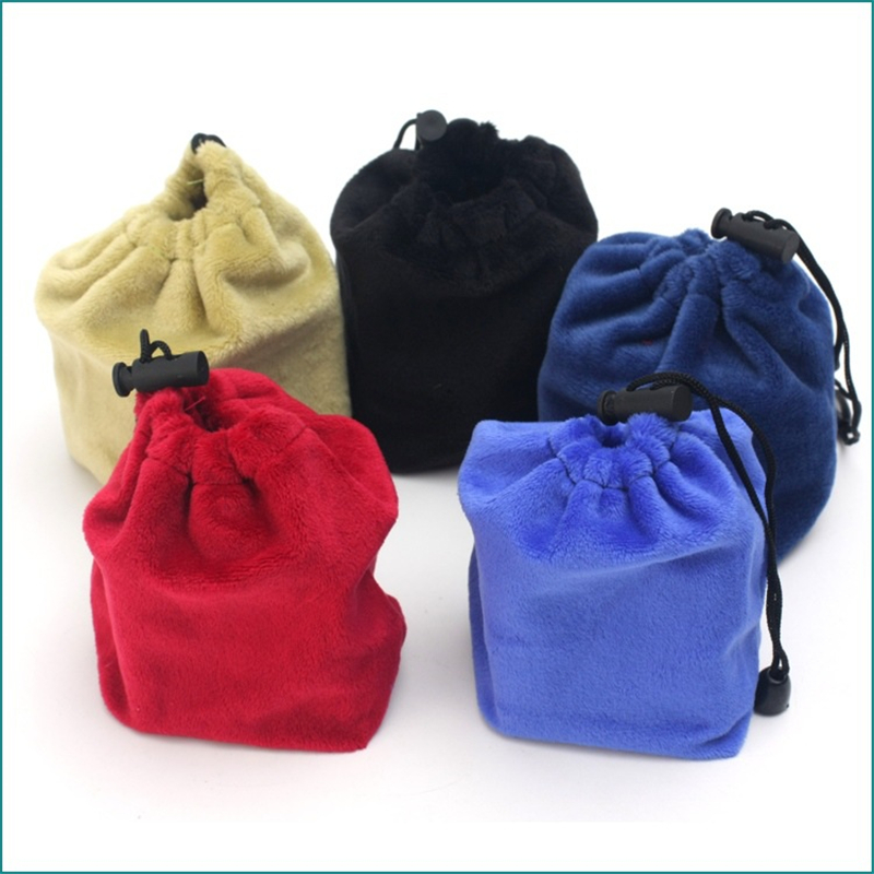 Protective Bag For 3x3x3 4x4x4 2x2x2 Magic Cube Puzzles Flannel Bags Protection Five Colors Velvet Carrying Magic Cube