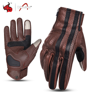 Image 1 - VEMAR Motorcycle Gloves Men Leather Moto Motocross Gloves Breathable Motorbike Gloves Touch Function Guantes Moto Riding Gloves
