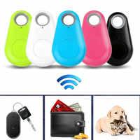 Intelligente Senza Fili di Bluetooth Tracer 4.0 BLT Localizzatore di Allarme Mini Tag Anti Perso Itag di Allarme per il Raccoglitore Chiave Cane di Animale Domestico di iPhone 7 smart Finder, Controlli a distanza per animali e bambini