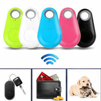 Smart Wireless Bluetooth Tracer 4.0 BLT Locator Alarm Mini Tag Anti Lost Itag Alarm for Wallet Key Pet Dog iPhone 7 Smart Finder