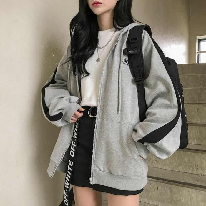 Oversized Truien Vrouwen Casual Lange Mouwen Losse Sweatshirts Vrouwelijke Harajuku Straat Vriendje Stijl Sweatshirt Fleece Kleding