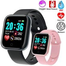 New Men Women Smart Watch D20 Y68 Fitness Bracelet Heart Rate Blood Pressure Monitor Sport Waterproof Smartwatch For Android Ios
