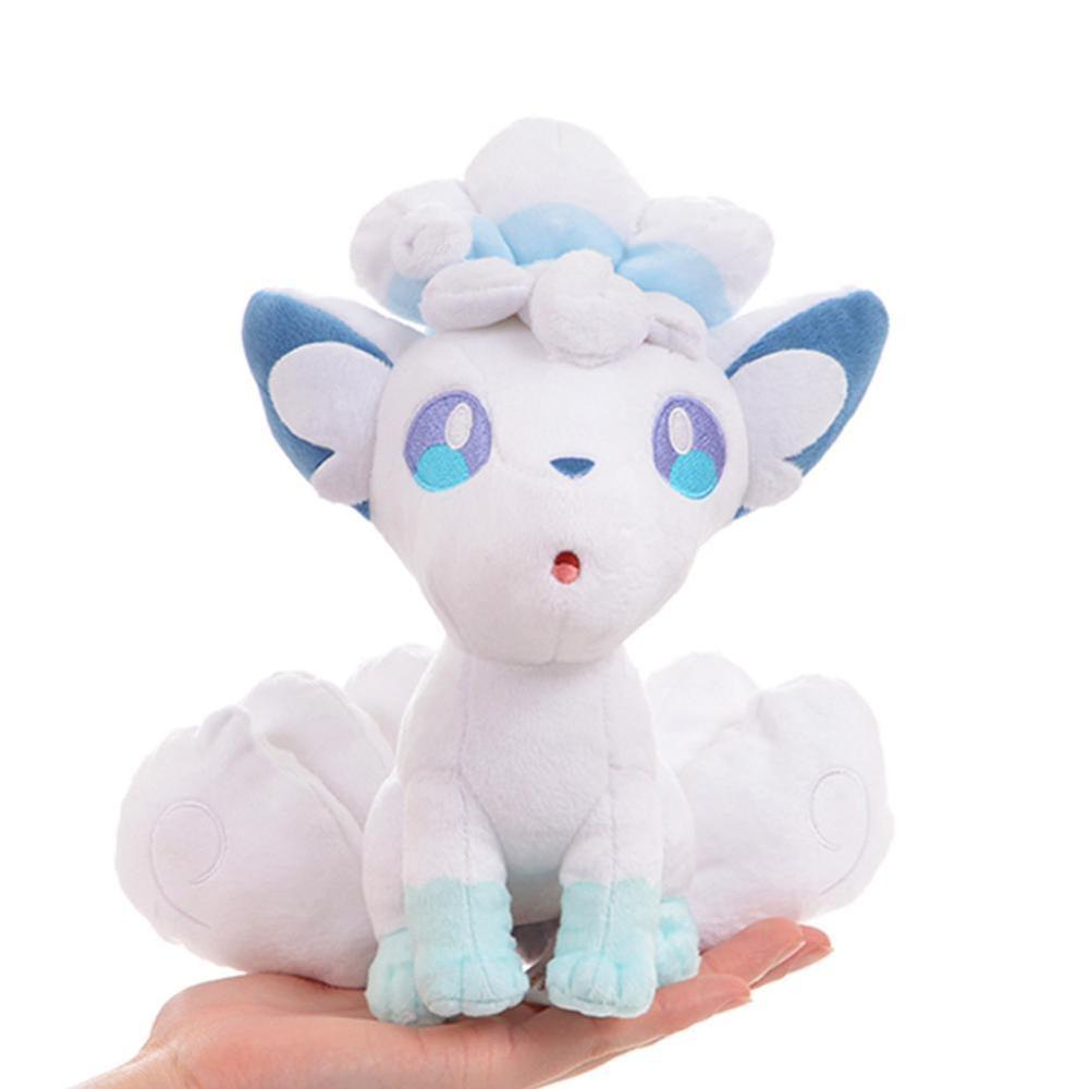 Plush Toy Animals Carton Movie Ice And Fire Vulpix Plush Cute Anime Soft Toys For Friend Gift Quality Claw Machine Doll