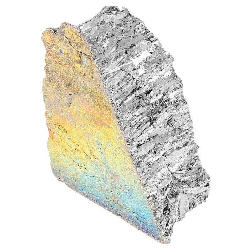 1KG Bismuth Metal Ingot 99.99% Pure Crystal Fr Making Crystals/Fishing Lures