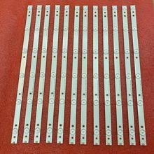 Новинка, 12 шт./Лот, 6 светодиодов (6 в), 472 мм светодиодные ленты для подсветки для детской модели tt43 V3 V4