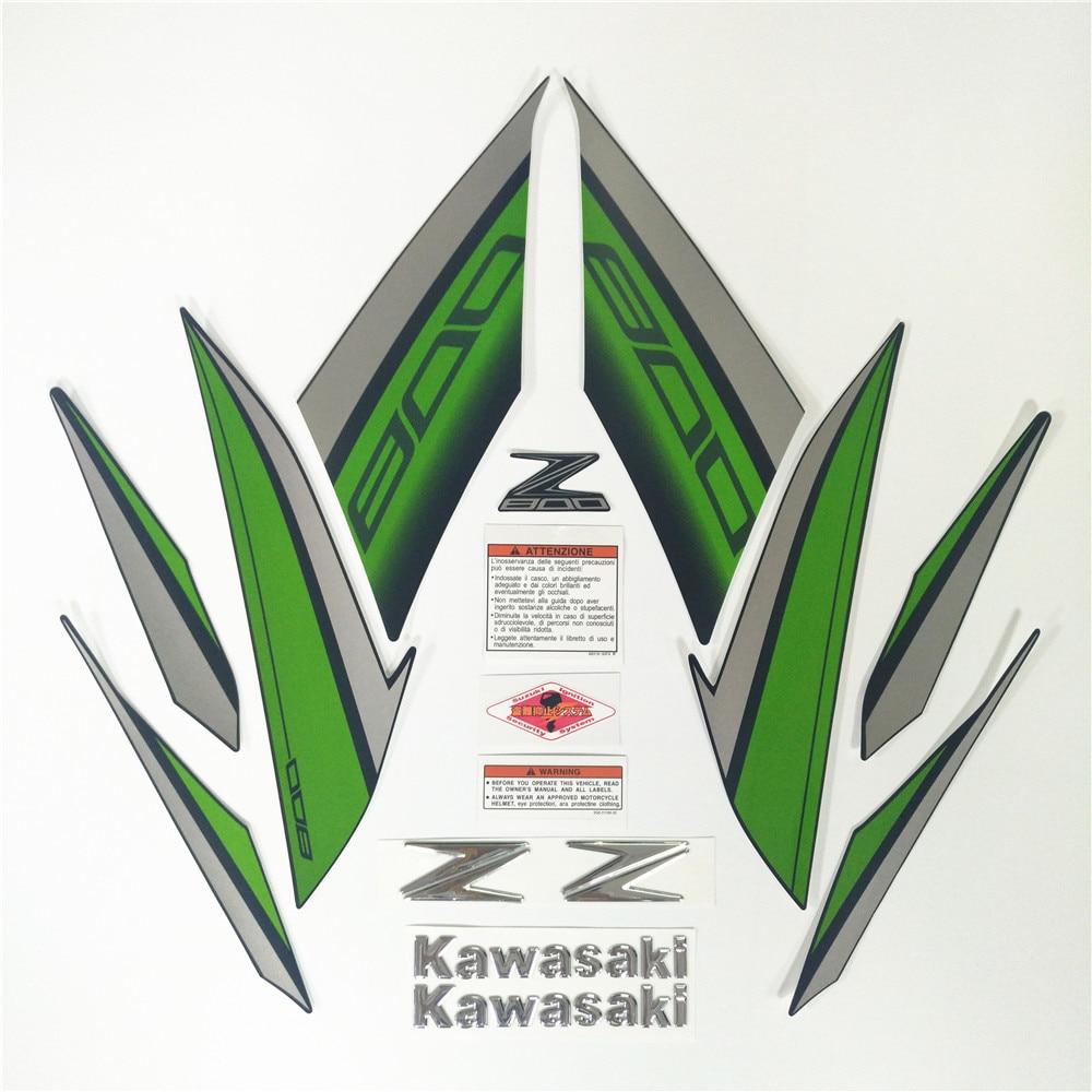 Motorcycle For Kawasaki Z800 13 14 15 16 2013 2014 2015 2016 Sticker Full Kit Decorative Protector Decal