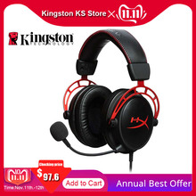 Original Kingston HyperX Cloud Alpha Limited Edition E sports Gaming Headset With a microphone Headphones For PC PS4 Xbox Mobile