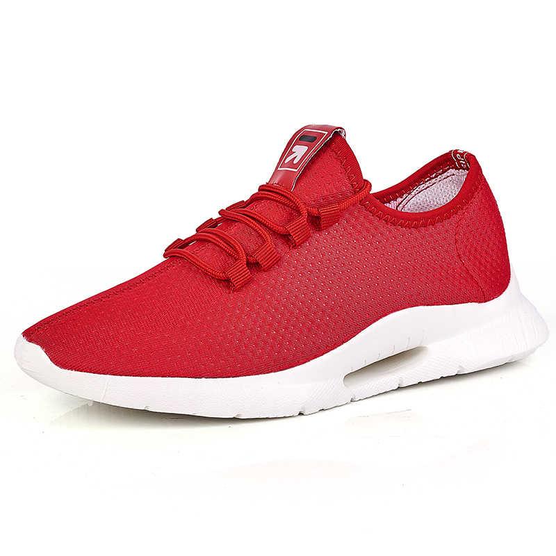 Moda ayakkabı erkekler rahat ayakkabılar rahat nefes ayakkabı yüksek kalite