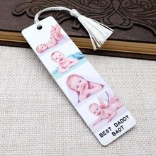 Bookmark Custom-Picture Father's-Day-Gift Photo Personalized for Reader Him