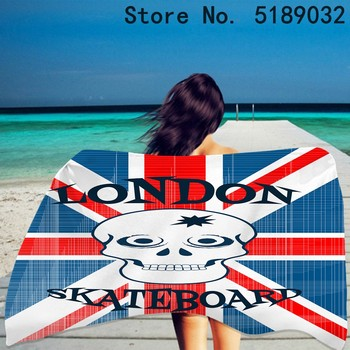 Niestandardowe brytyjskie amerykańskie flagi letni ręcznik plażowy kolorowy baner ręcznik plażowy piękne zwierzęta ręcznik kąpielowy pływanie ręcznik podróżny tanie i dobre opinie CN (pochodzenie) Beach Towel Bez wzorków Z dzianiny Rectangle 480g St-01 Szybkoschnący można prać w pralce 11 s-15 s