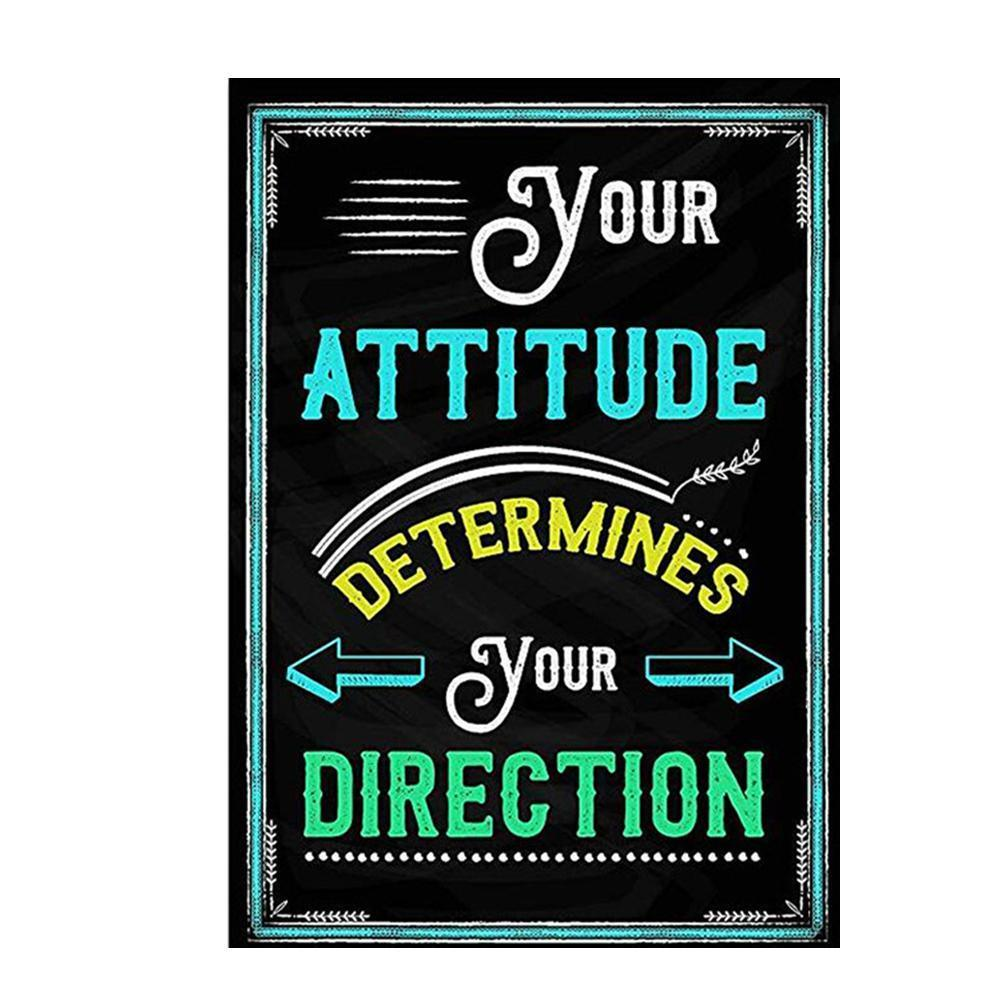20*30cm 10 Style Motivational Classroom Wall Posters Album Inspirational Classroom Teacher Decorations For Students Quotes F3O5
