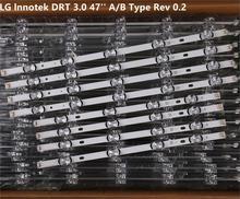 LED Backlight strip For 47LB6500 6916L 1948A 1949A 1961A 1962A 1779A 1780A LG47LY340C LG47GB651C 47LB570B 47LB5600 47LB5800