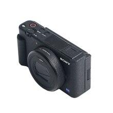 Pele da capa do corpo da câmera do brilho para sony ZV 1 rx100vii rx100vi rx100v rx100iv rx100iii zv1 película protetora da etiqueta do anti risco