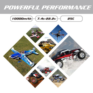 Image 5 - Аккумулятор HRB RC Lipo 2S 3S, 10000 мА/ч, для радиоуправляемого вертолета, беспилотника XT60, 6S, 7,4 В, 11,1 В, 14,8 в, 22,2 в, в, 25C MAX, 50C, XT60 T