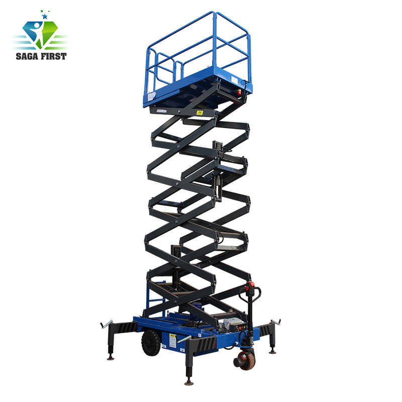 Electric Hydraulic Manually Moving In-ground Scissor Lift With Heavy Loading Capacity 2000kg