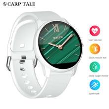 Vrouwen Smart Horloge 2020 Waterdichte Sport Horloges Wekker Bloeddruk Hartslag Tracker Smartwatch Voor Xiaomi Honor Apple