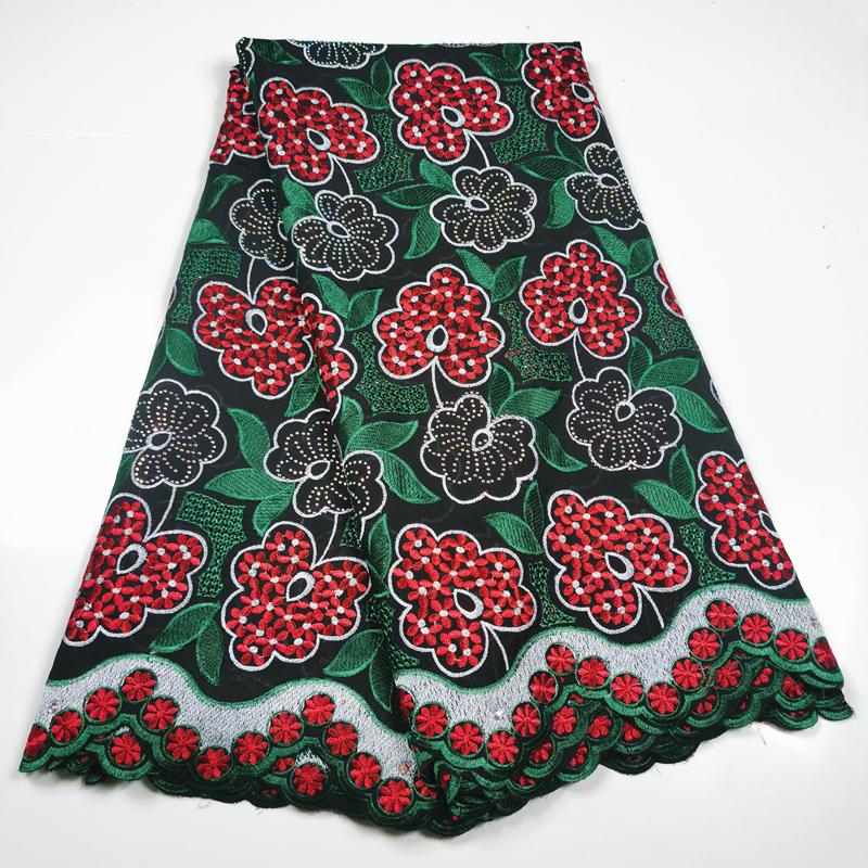 Embroidery Swiss Voile Lace In Switzerland Best Selling African Lace Fabric 2018